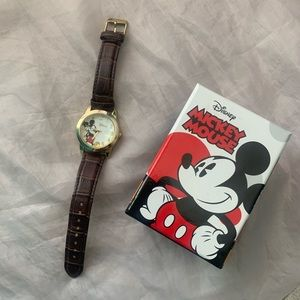 Disney Mickey Mouse brown watch